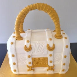 A replica Louis Vuitton handbag for a special lady who loved to shop.