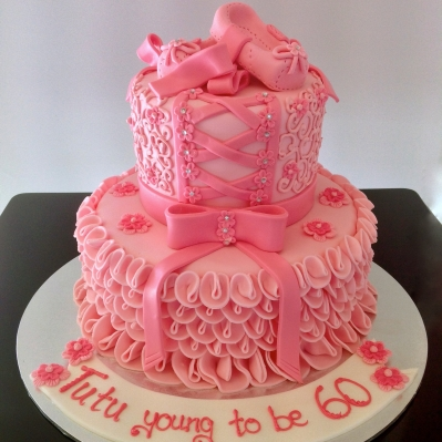 A creation made for a ballerina who turned sixty.