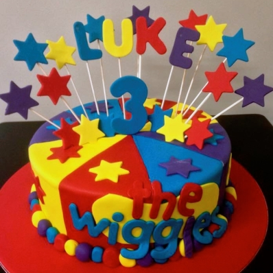 The ultimate cake for the Wiggles fan.
